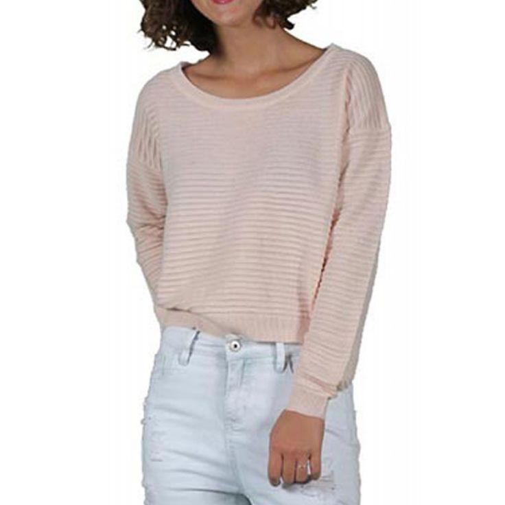 Pulover Dama NOISY MAY Katie Cropped Knit Top