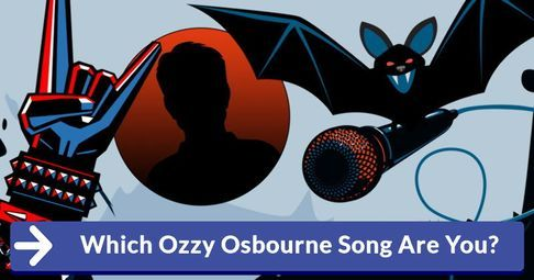 Which Ozzy Osbourne Song Are You?