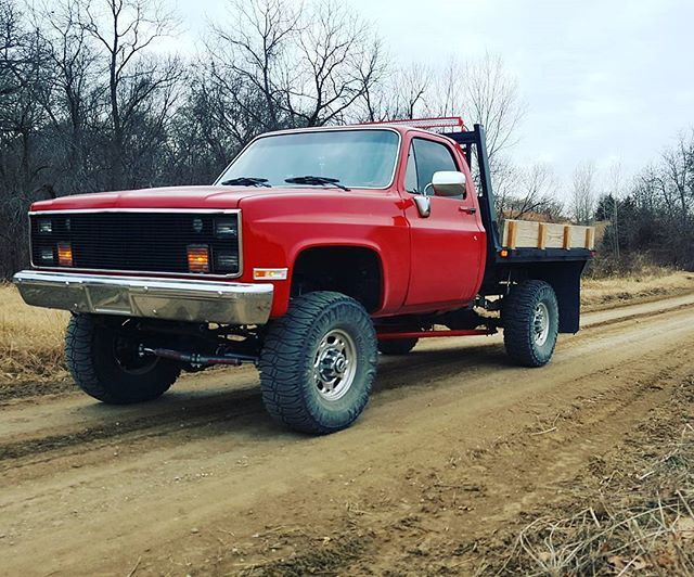 Owned by @chevy4x41987 #chevrolet #ohiosquarebodies # ...