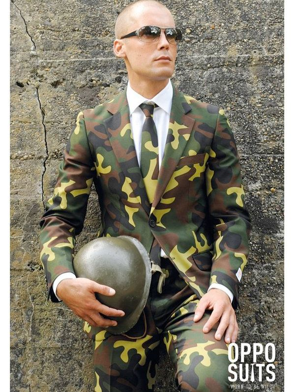 Check out Men's Opposuits Commando Suit Costume - Military Costumes from Costume Super Center