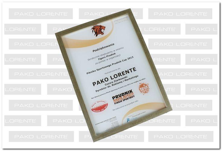 Mieliśmy przyjemność ufundować nagrody przeznaczone na licytację charytatywną podczas letniego pikniku sportowego w Prudniku. Oto bardzo miły gest ze strony organizatora w postaci oficjalnych podziękowań.
