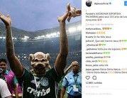 Gabriel Jesus e outros lembram aniversário do Palmeiras na web (reprodução / Instagram)