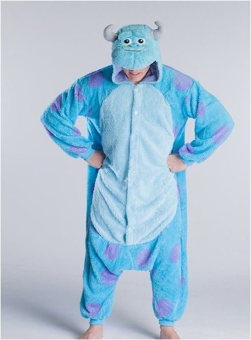 Brand: Unbranded  Material: Coral fleece  MPN: Adults Sully Onesie Cosplay Costume Jumpsuit Kigur