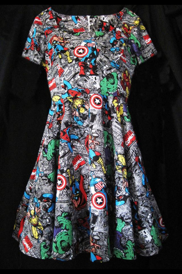 Marvel Dress This Is Perfect First Love Pinterest