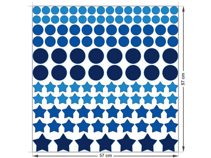 Simple xcm Konfetti Set teilig Sterne und Punkt