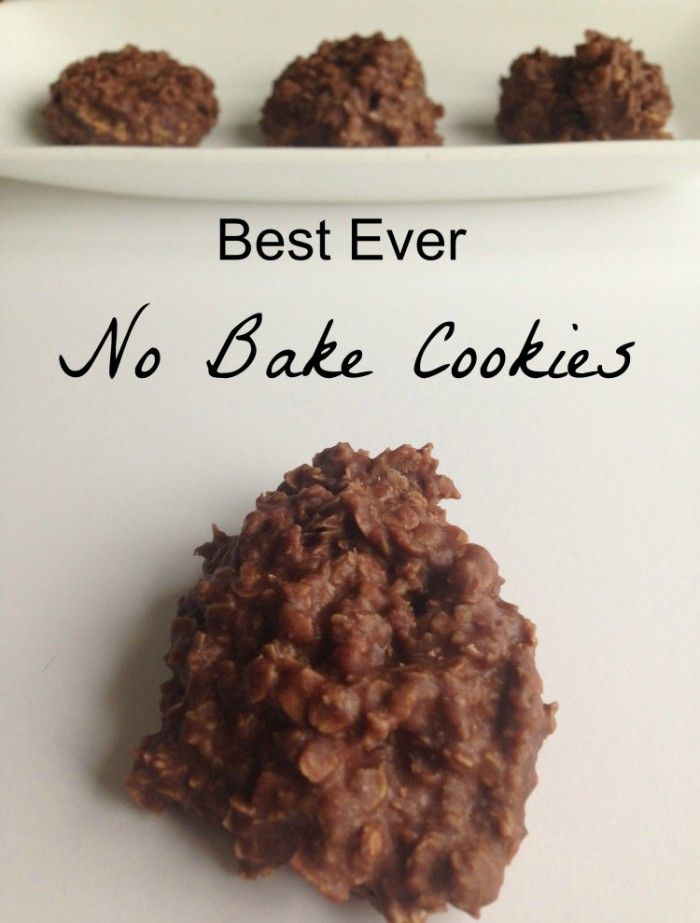 You'll love this recipe for the best ever no-bake cookies!