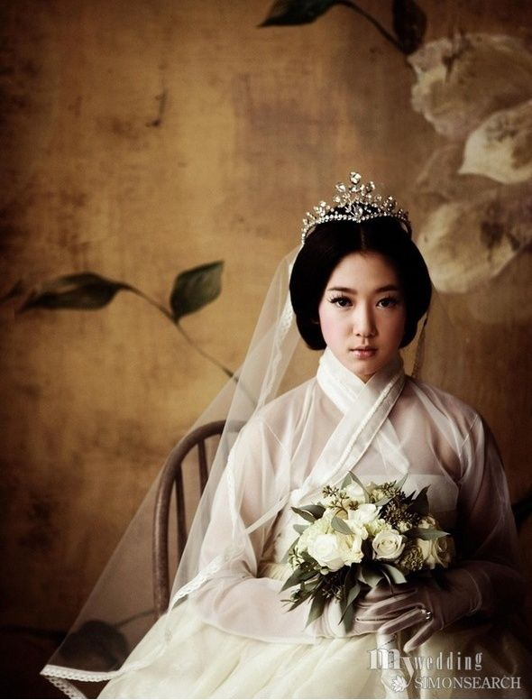 hanbok wedding dress,.