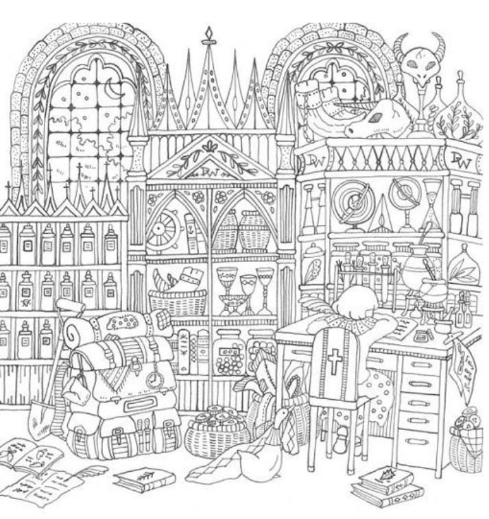 Romantic Country Coloring Book Coloring Pages Coloring Pages
