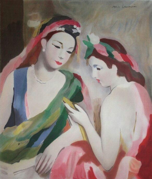 Extrêmement Les 452 meilleures images du tableau Marie Laurencin sur Pinterest  XK89