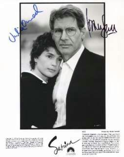 Who played sabrina with harrison ford