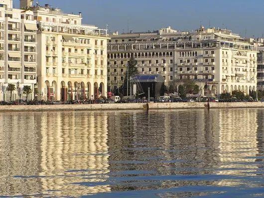 Thessaloniki waterfront -#Macedonia culture capital of Greece