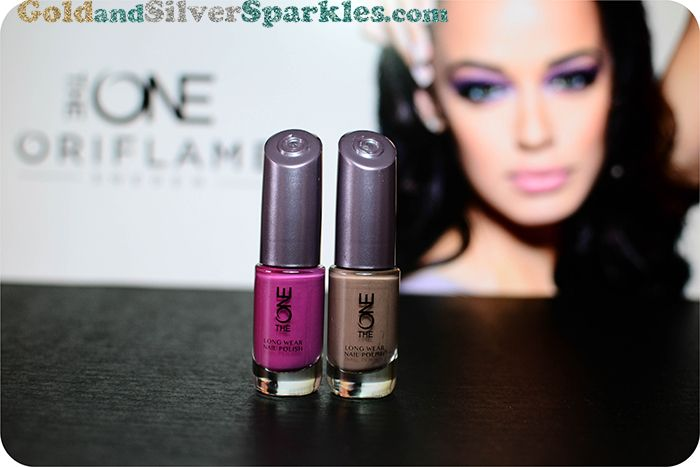 THE ONE Long Wear Nail Polish - NI.ORCHID & CAPPUCION REVIEW + SWATCHES: http://www.goldandsilversparkles.com/2014/05/the-one-by-oriflame-series-long-wear.html #bblogger #oriflame #theone# #nails #nailpolish