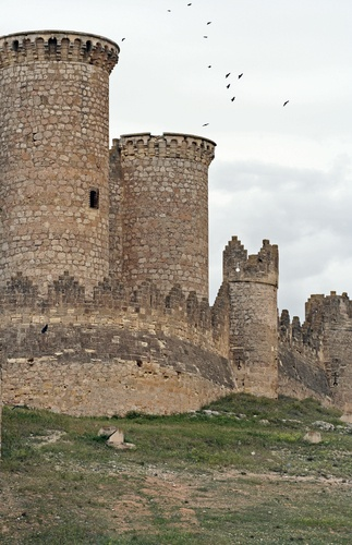 Towers of Belmonte's Castle Lisbon ...Castelo