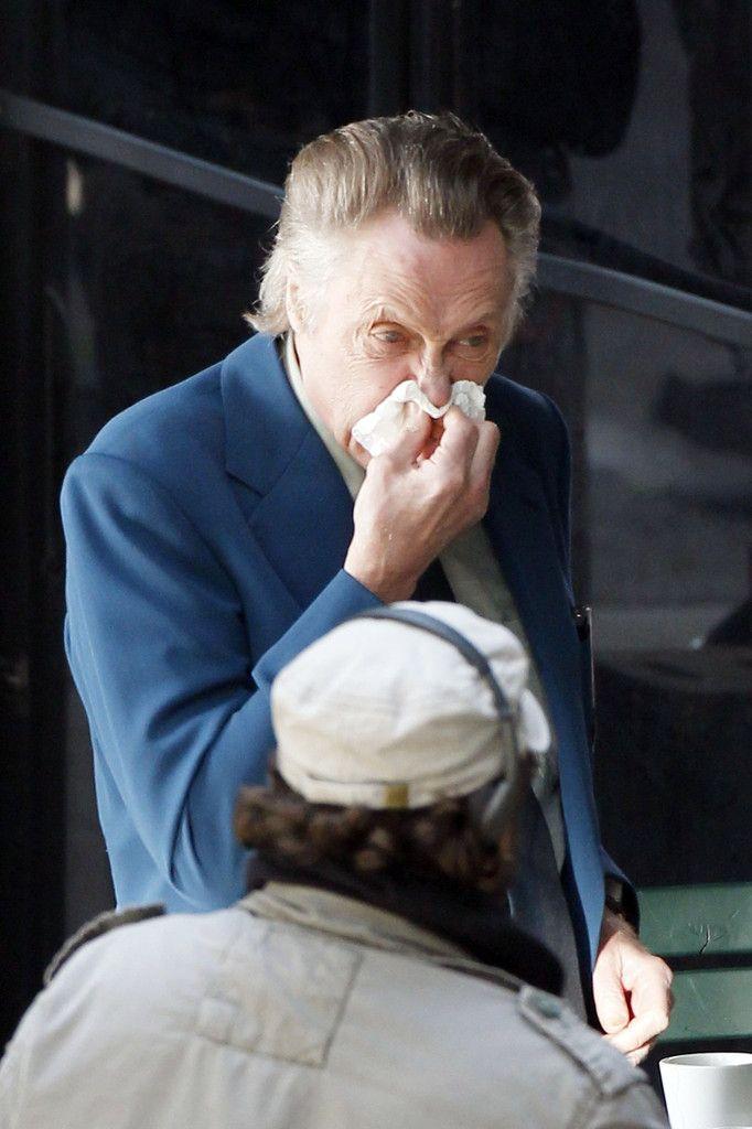 Christopher Walken Photos: Christopher Walken and Al Pacino Film 'Stand Up Guys'