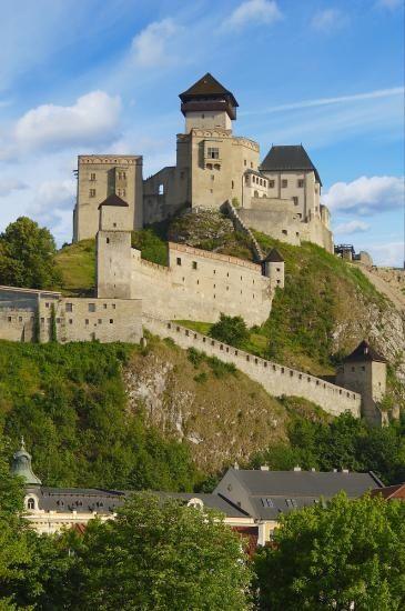 Trencin Castle Slovakia