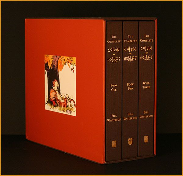 I'd love to own this.  |  The Complete Calvin & Hobbes series by Bill Watterson