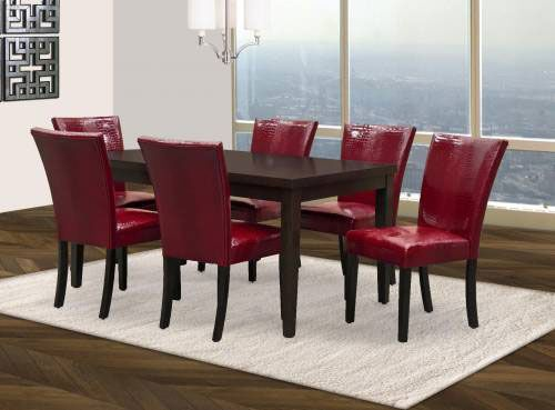 "rent furniture welton ""blake"" 7-piece counter height dining room"