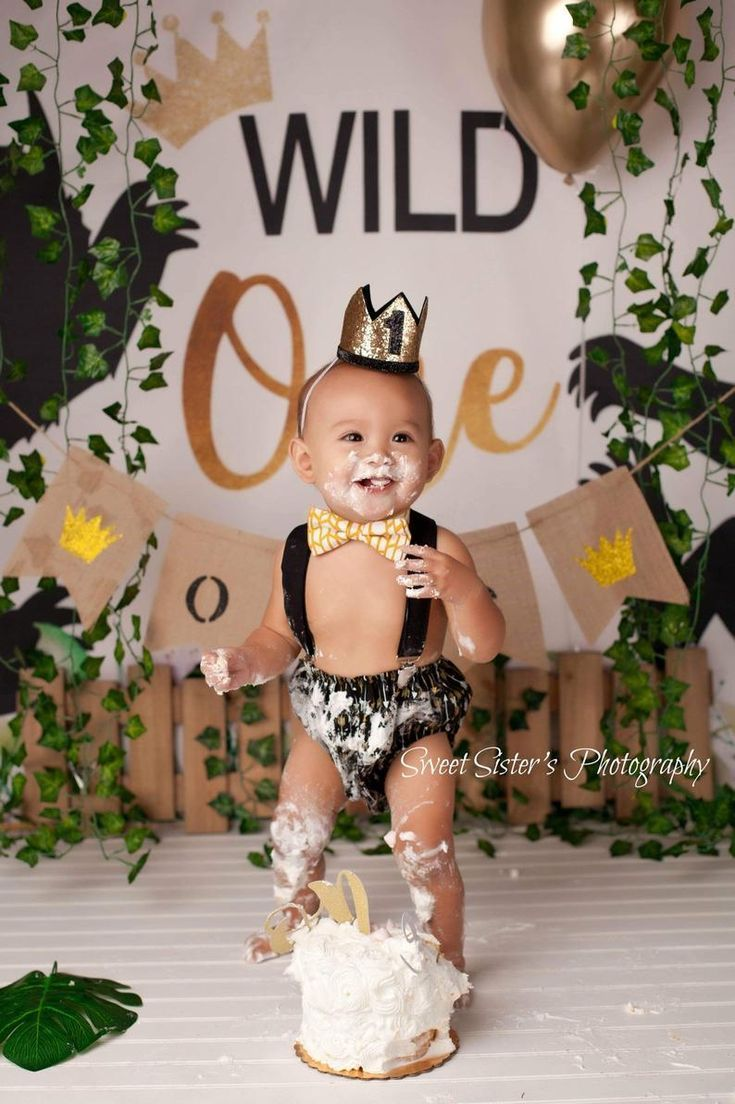 Enjoyable King Of The Wild Things Outfit Wild One Cake Smash Outfit Boys Birthday Cards Printable Trancafe Filternl