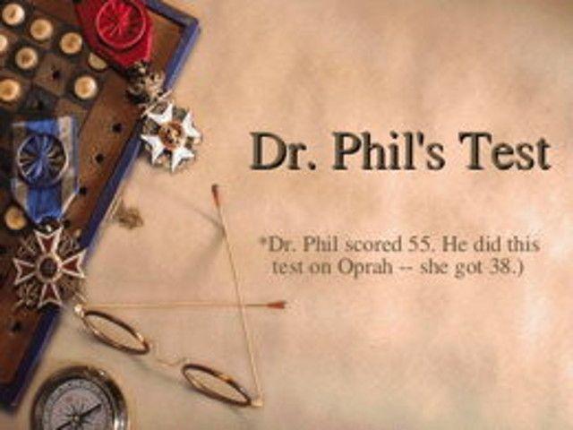 Magazino1: Το μοναδικό τεστ προσωπικότητας του Dr Phil!!