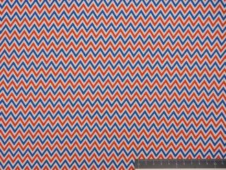 Dots - Chevron - Oranje