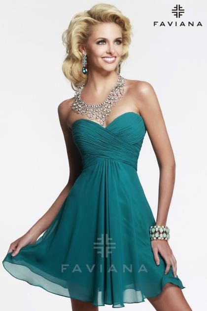 Estupendos vestidos cortos de fiesta   Modernos vestidos elegantes