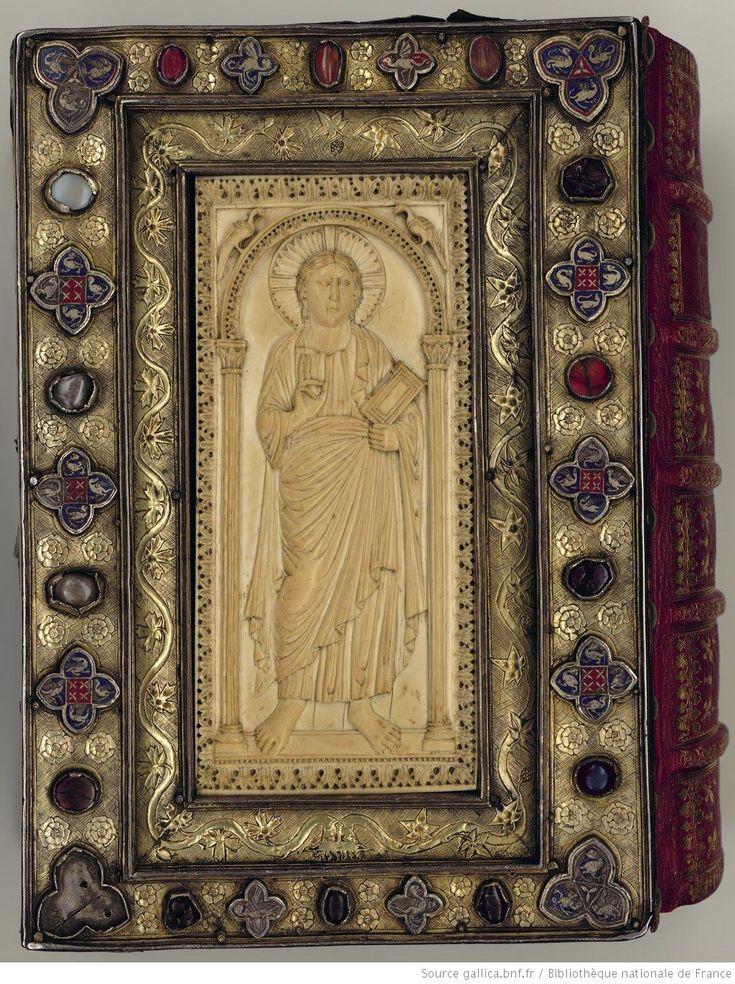 Evangelia [Evangiles dits de Saint-Denis] / Date d'édition : VIIIe s. (fin) / manuscrit. BnF