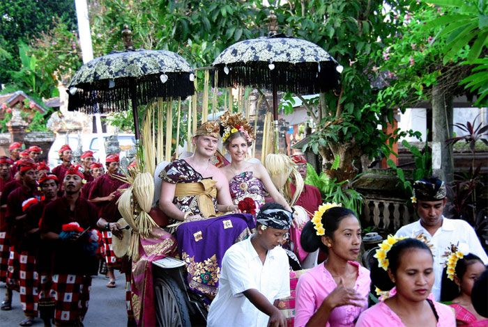 Bali wedding ceremonial
