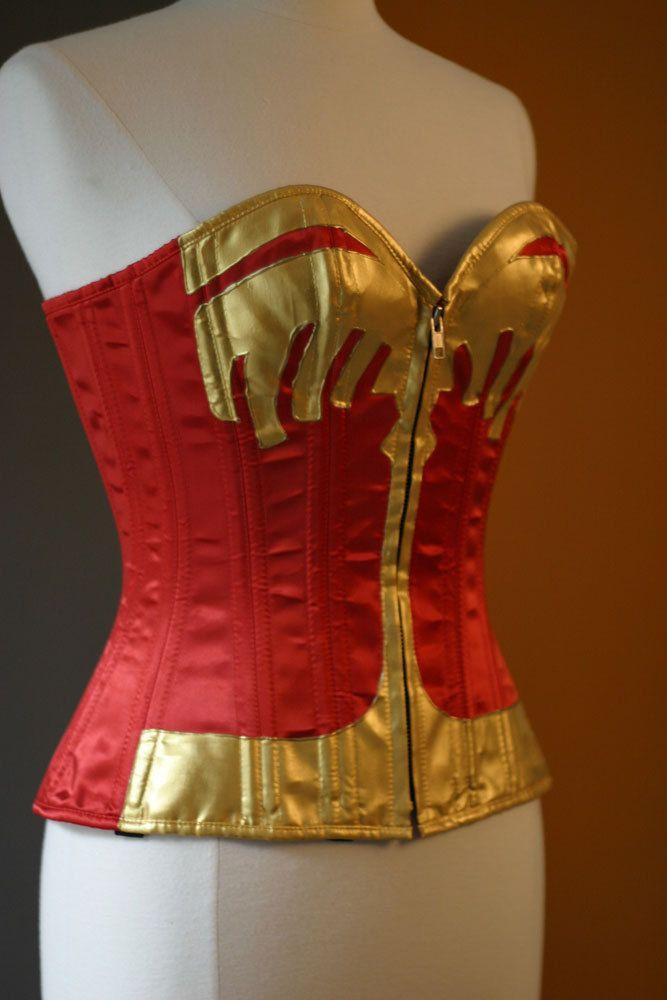 Wonder woman long skirt-8053