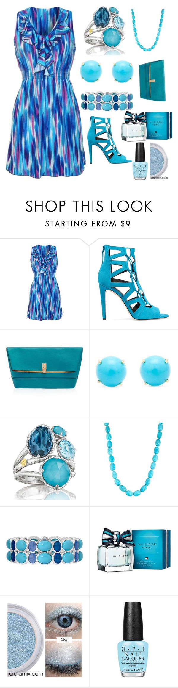 """""""Love Love this COLOR!!!!"""" by mdfletch ❤ liked on Polyvore featuring Rebecca Minkoff, Henri Bendel, Irene Neuwirth, Tacori, Liz Claiborne, Tommy Hilfiger and lovelovethiscolor"""