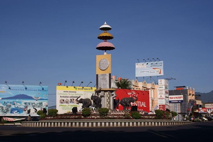 Le monument Adipura - Indonésie.