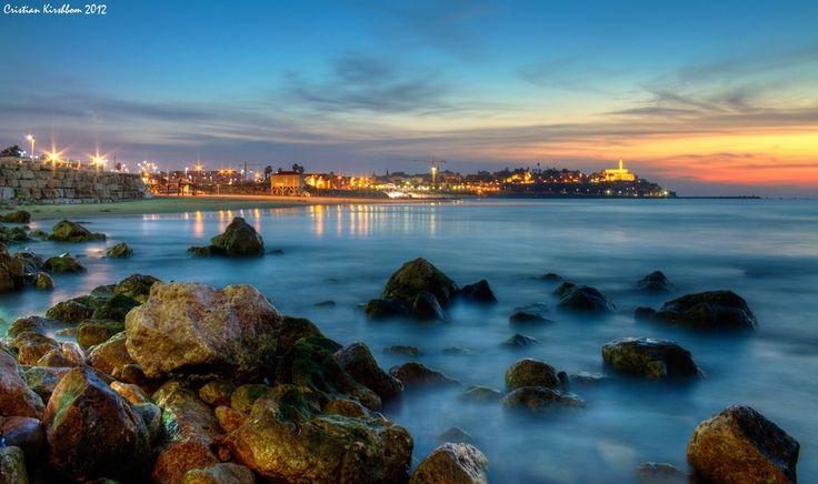 Autumn colors - Taken from Tel Aviv beach towards Old Jaffa.