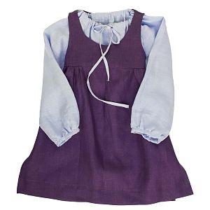 Mákvirág — Pinafore dress lavender
