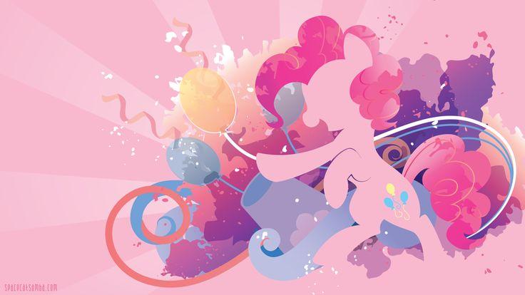 Pinkie Pie Silhouette Wall by SpaceKitty.deviantart.com on @deviantART #mylittlepony