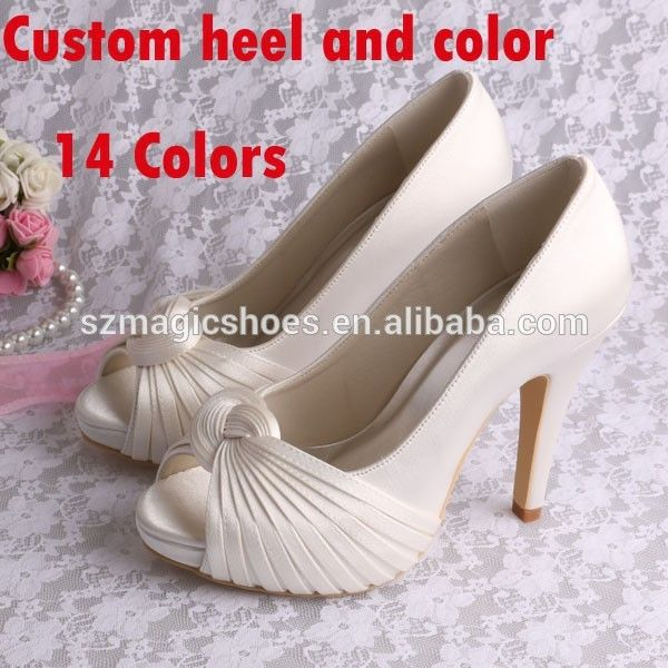 Wholesale Bridal Wedding Shoes 2015  FOB Price: US $ 13 - 25 / Pair | Get Latest Price Min.Order Quantity: 1 Pair/Pairs Supply Ability: 500 Pair/Pairs per Day