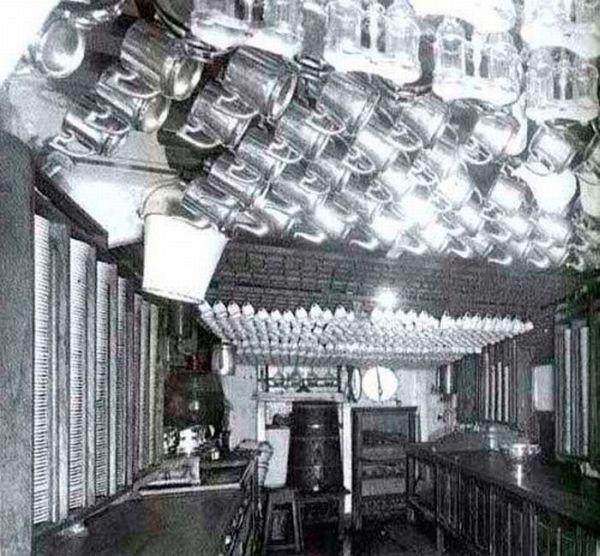 The Titanic kitchen