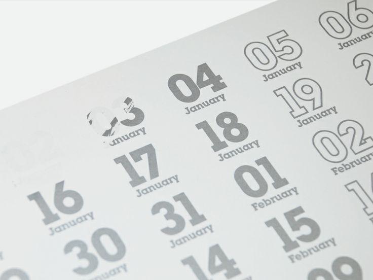 Self Promotion scratch calendar — Mytton Williams