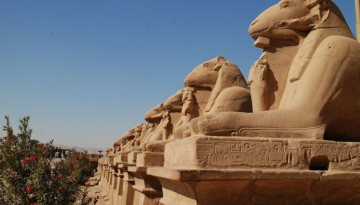 Vakantie Egypte - standbeelden