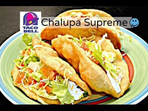 Homemade Chalupa Shell recipe video- Indian Fried Bread known as Bhature - YouTube