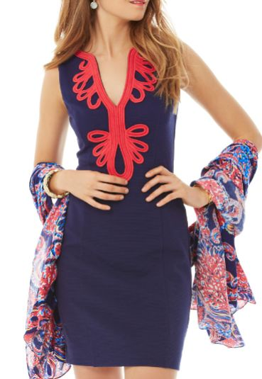Lilly Pulitzer Janice Knit Shift Dress