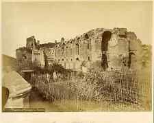 Italie, Rome, Ruines du Palais des Césars 1880