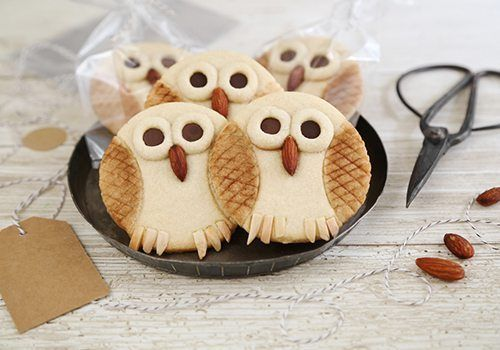 Bake This: Butter Cookie Owls on Etsy