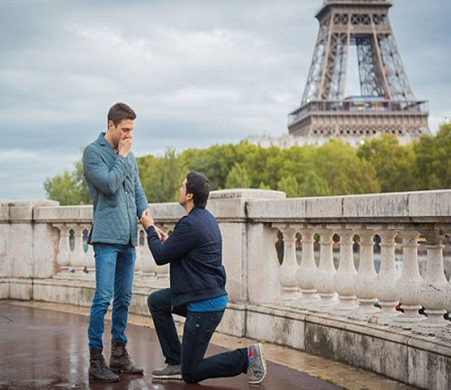Oh so cute! How this gay couple got engaged will set relationship ...