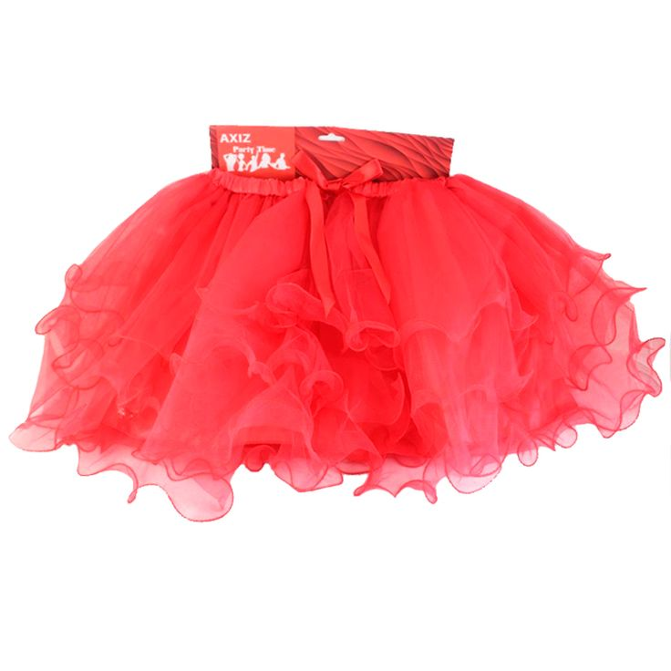 Hens Party Tutu - Red Tutus are the perfect Hens night accessory! Gorgeous layered and lined Red Tutu for the Bride To Be, or get one for all the girls to really make an impression! Team with one o...