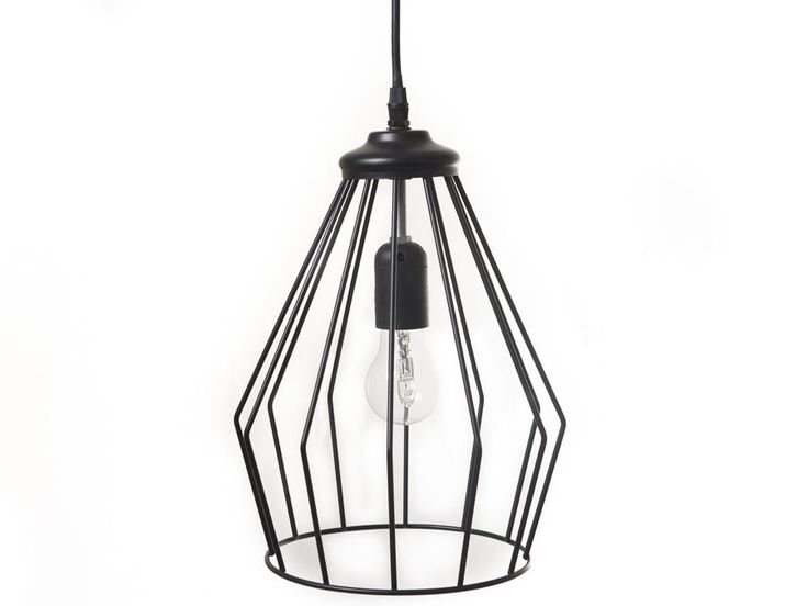 Unique Metal Cage Ceiling Light Fixture 32cm - Industrial Style - ONLY ONE !!!