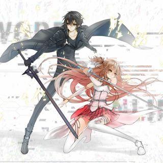 #infinite_avengers #infinite_anime_league #infinite_fiction_universe #SAO #GGO #ALO #Kirito #Asuna #Single_sword #Elucidator #saogame #Sword_Art_Online #Girl #Boy #Black #Red #rapier #anime #BlackSwordsmen #Beater