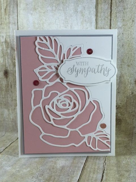Rose Wonder(ful) is an absolutely gorgeous stamp and framelit set in the Occasions 2016 Stampin' up! catalog. You have to check it out! http://www.stampinbj.com/2016/01/rose-wonderful.html