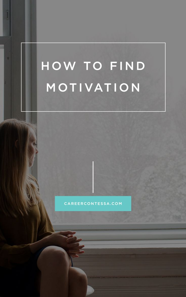 The simple answer to finding #motivation even when you feel like you're failing. | Career Contessa | By: Griffin Hill