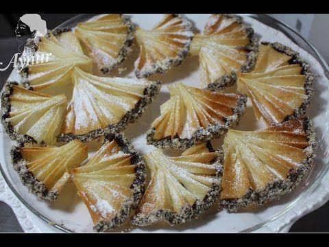 Yelpaze kurabiye Tarifi - YouTube