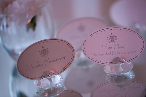 Featuring Crystal Place Card Holders | Image - Stewart Ross Photography