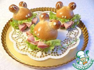 Сэндвичи ;Лягушки